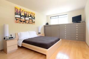 Main Bedroom with plenty of built in storage